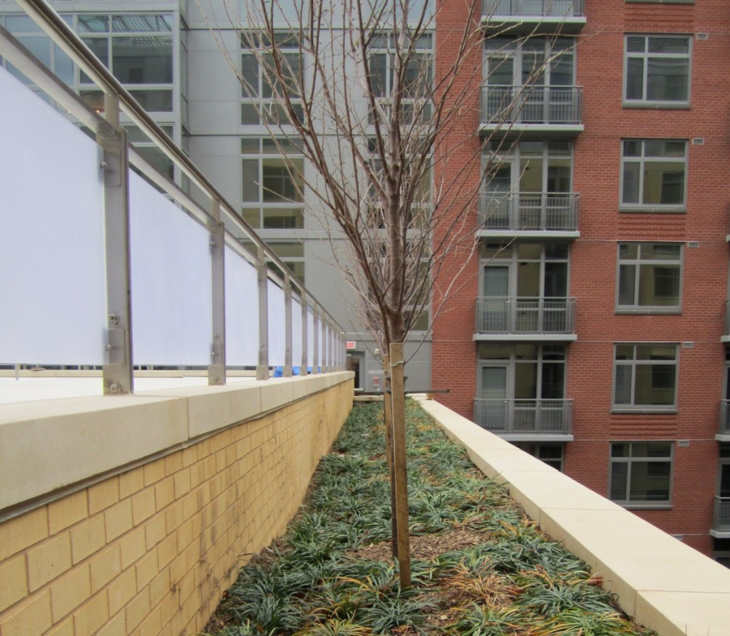 Railing - Solid Surface Panels