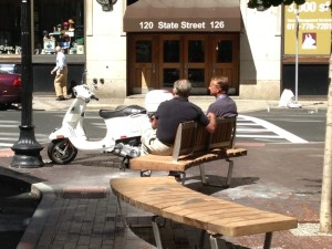 Broad Street Bench