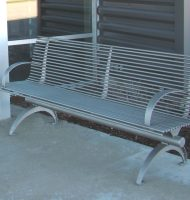 Urbane Backed Bench
